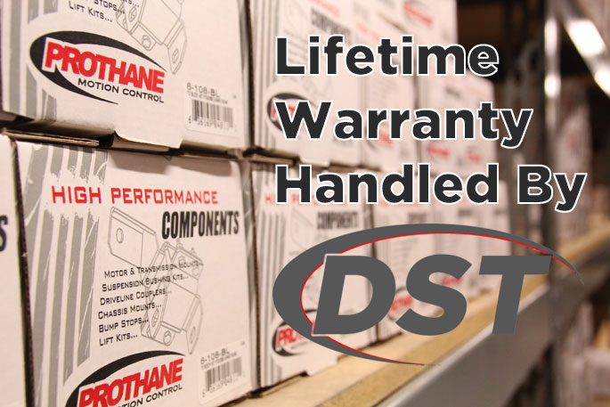 lifetime warranty for prothane polyurethane bushings