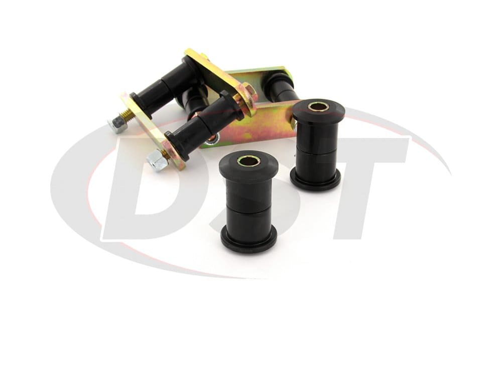 11013 Rear Leaf Spring Bushings and Heavy Duty Shackles