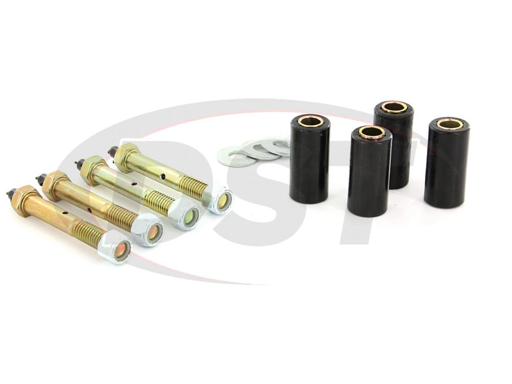 11015 Front and Rear Greaseable Main Spring Eye Bushings