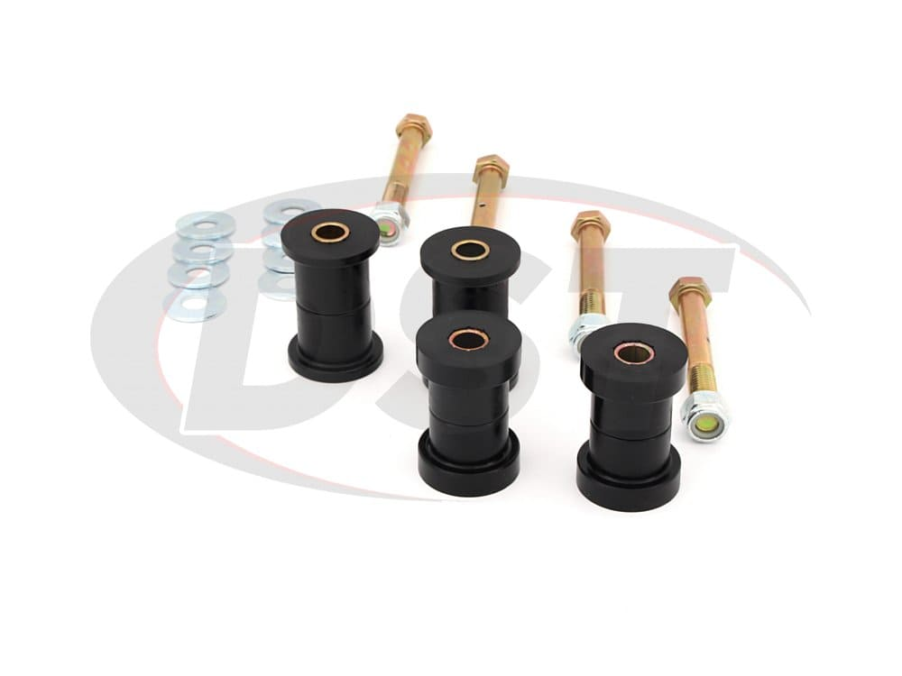11016 Front and Rear Greaseable Main Spring Eye Bushings