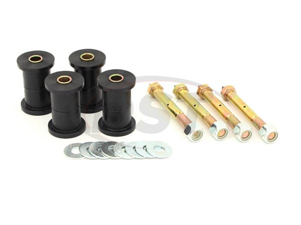 11017 Front and Rear Greaseable Main Spring Eye Bushings