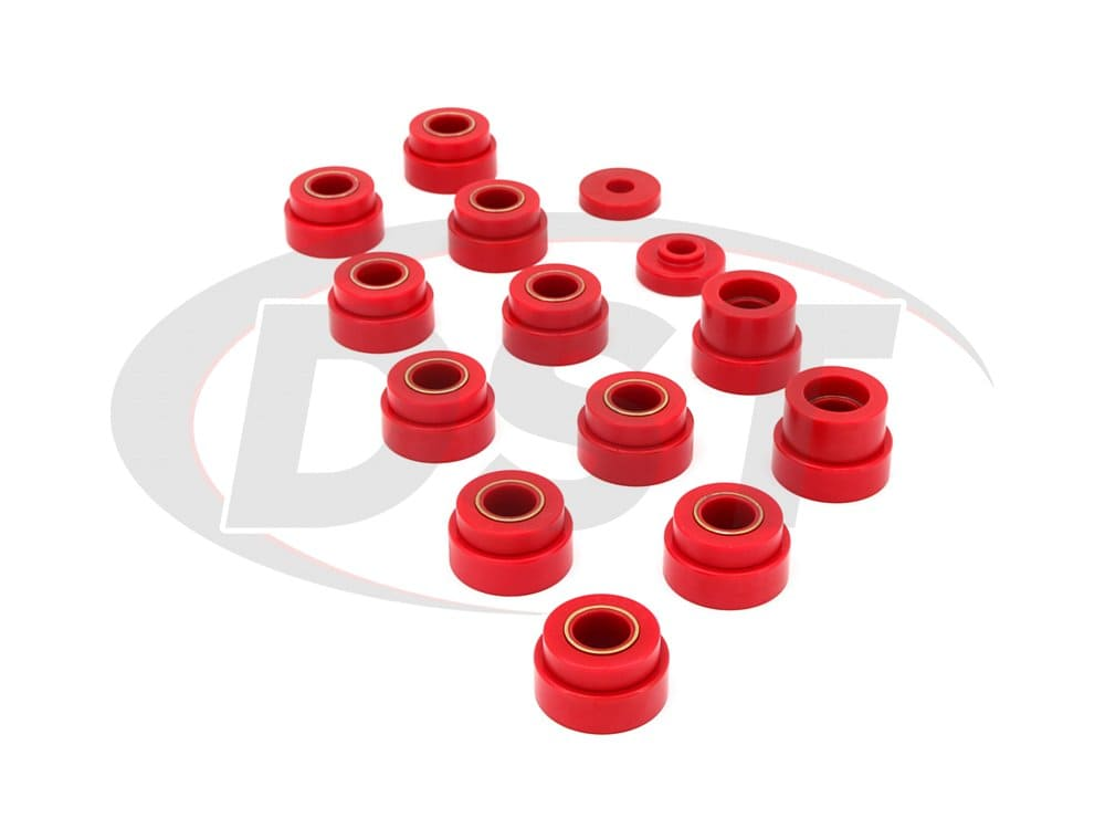 1104 Body Mounts Bushings and Radiator Support Bushings - CJ8