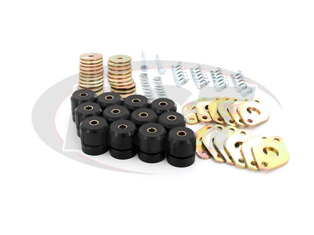 1117 Body Mount Bushing Kit - 4 door