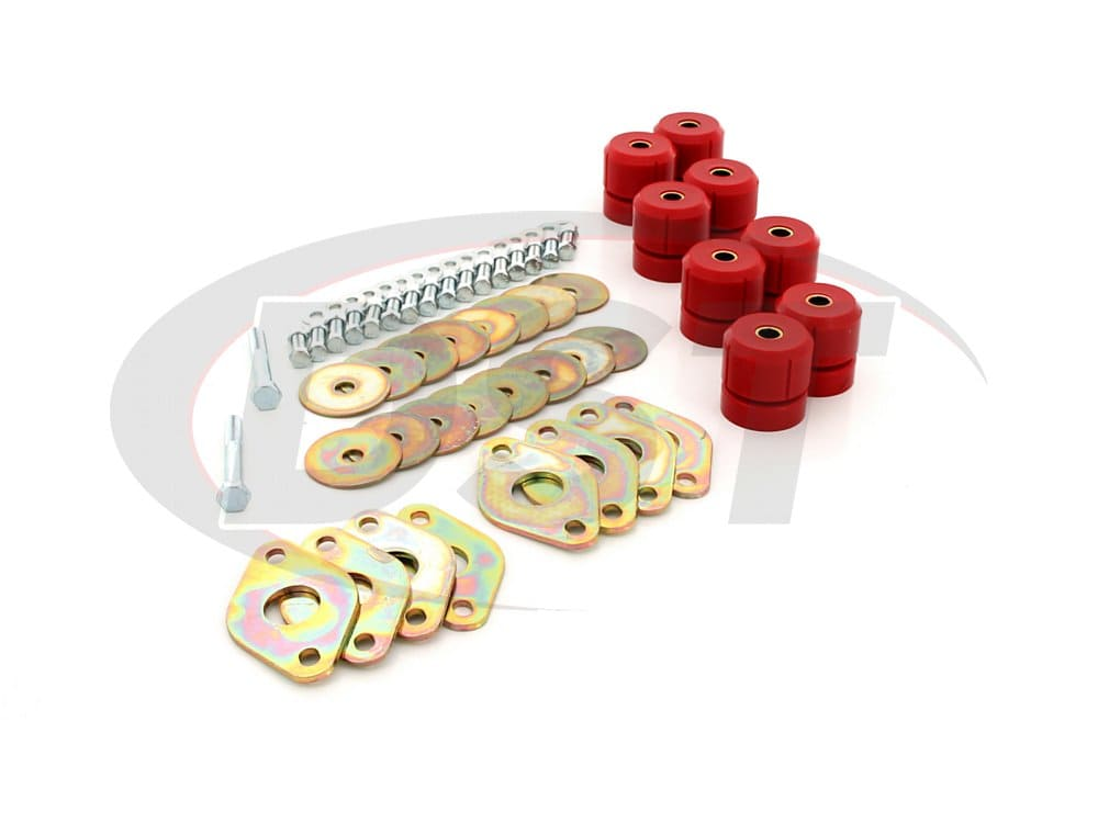 1118 Body Mount Bushing Kit - 2 door