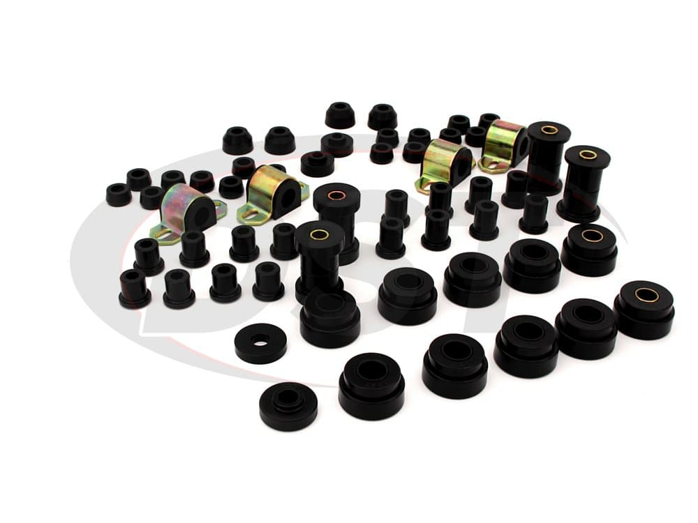 12002 Complete Suspension Bushing Kit - Jeep CJ5 - CJ7 76-79