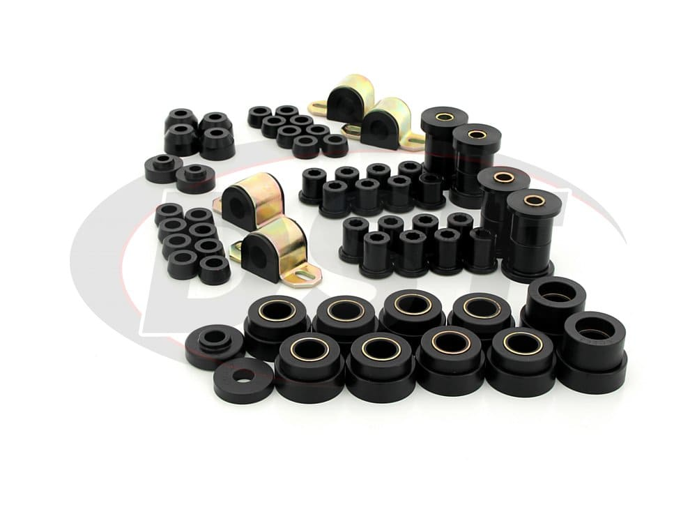 12003 Complete Suspension Bushing Kit - Jeep CJ5 and CJ7 80-86