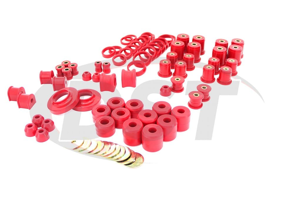 12006 Complete Suspension Bushing Kit - Jeep Wrangler TJ 97-06