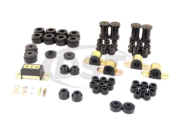 Complete Suspension Bushing Kit - Jeep CJ5 - CJ7 76-79