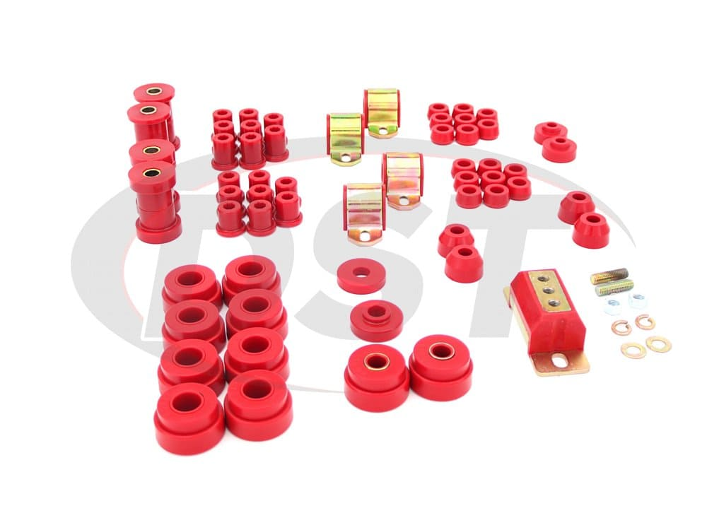 12007 Complete Suspension Bushing Kit - Jeep CJ5 - CJ7 76-79