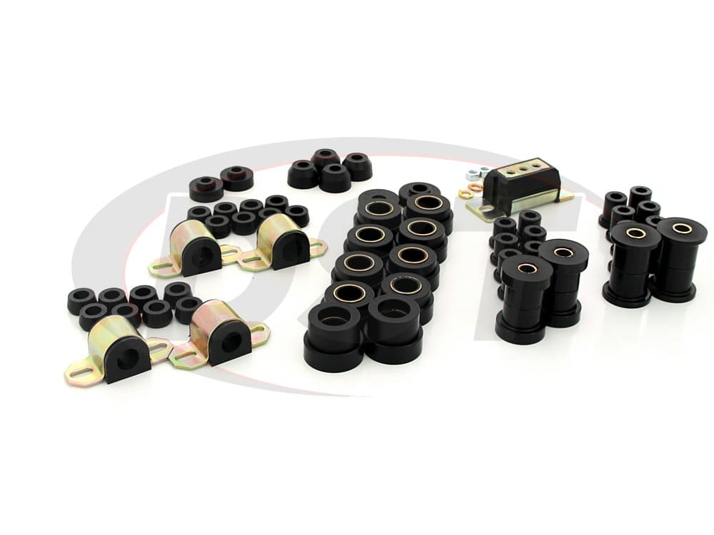 12008 Complete Suspension Bushing Kit - Jeep CJ7 and CJ8 80-86
