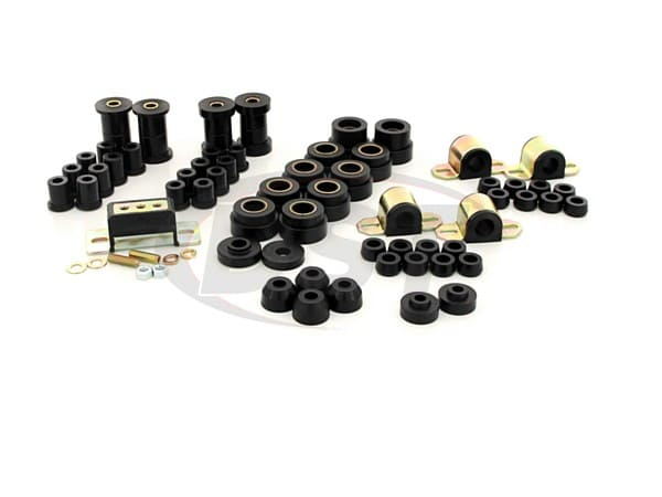 Complete Suspension Bushing Kit - Jeep CJ7 and CJ8 80-86