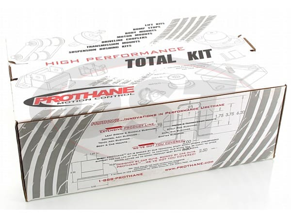 12010 Complete Suspension Bushing Kit - AMC 64-69