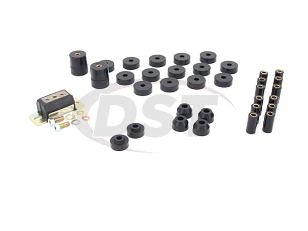 12013 Complete Suspension Bushing Kit - Jeep CJ5 74-75