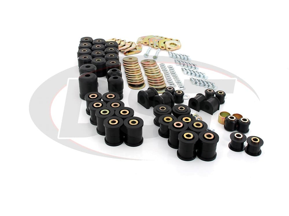 12017 Complete Suspension Bushing Kit - Jeep Wrangler JK 07-17