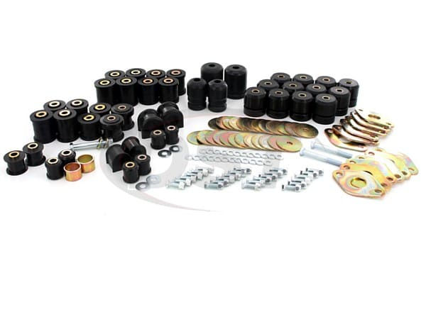 Complete Suspension Bushing Kit - Jeep Wrangler JK 07-17