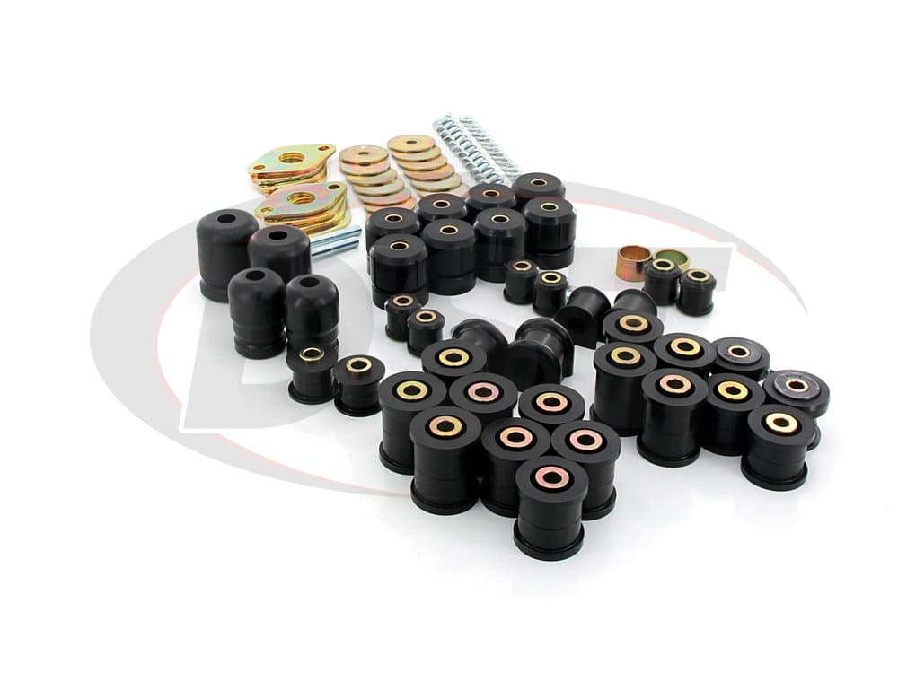 12018 Complete Suspension Bushing Kit - Jeep Wrangler JK 07-17 - 2 Door