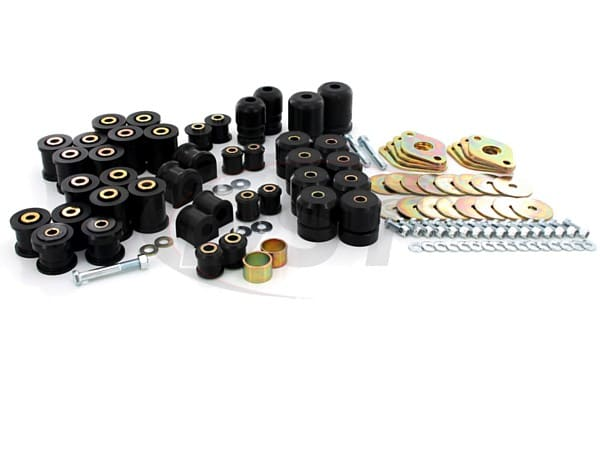 Complete Suspension Bushing Kit - Jeep Wrangler JK 07-17 - 2 Door
