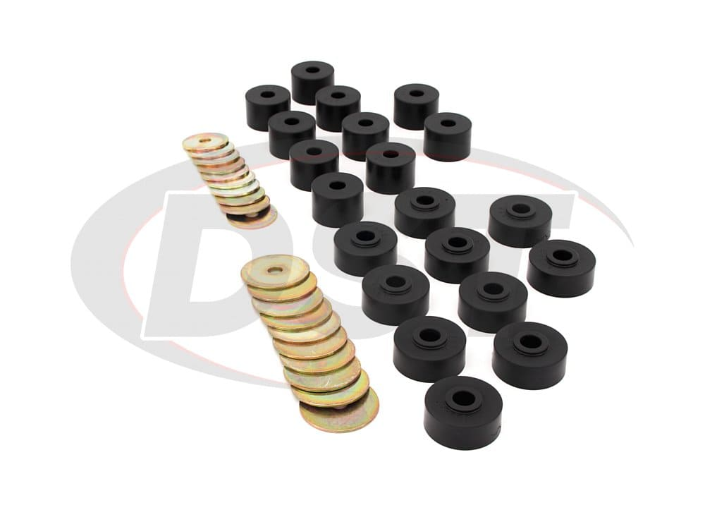 13103 Body Mount Bushings - 2 Door SWB