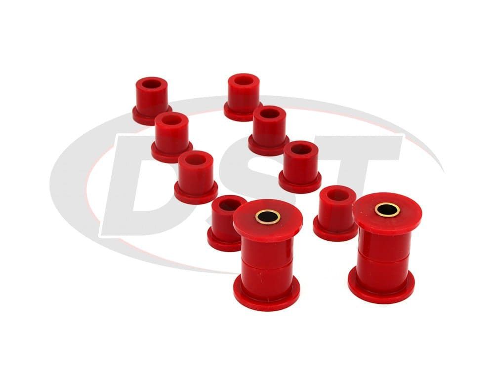 181002 Rear Leaf Spring Eye and Shackle Bushings Kit