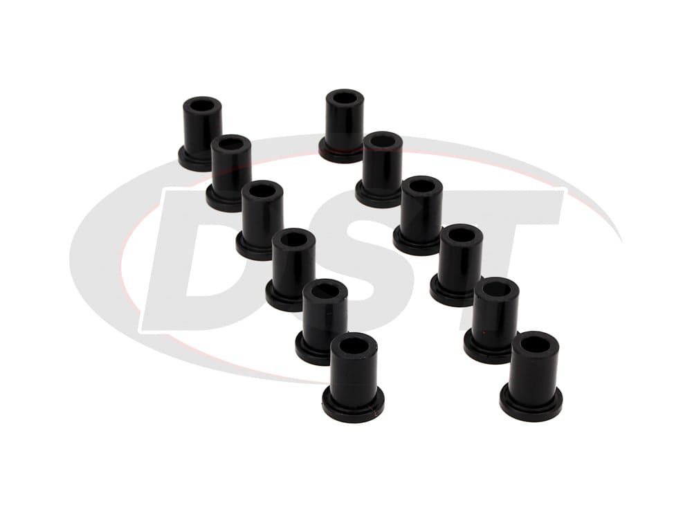 181003 Front Leaf Spring Eye and Shackle Bushings Kit