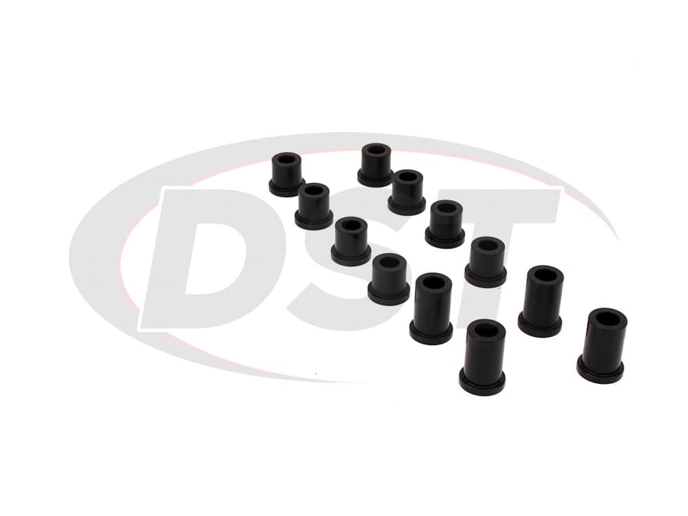181004 Front Leaf Spring Eye and Shackle Bushings Kit