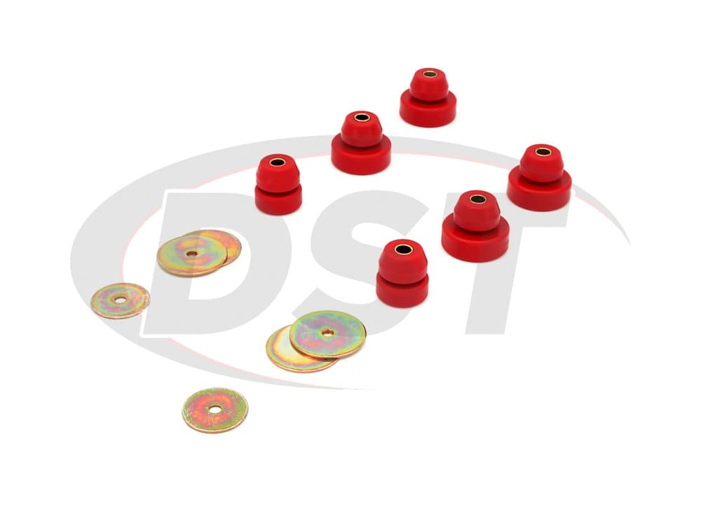 18101 Body Mount Bushings and Radiator Support Bushings