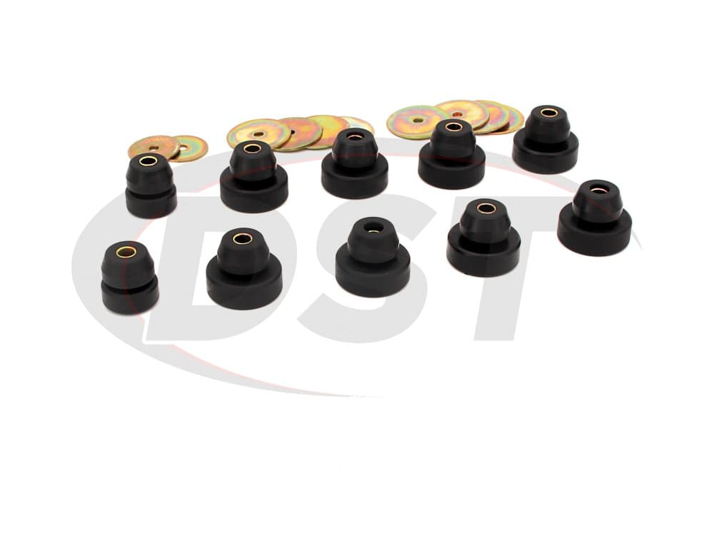 18102 Body Mount Bushings and Radiator Support Bushings