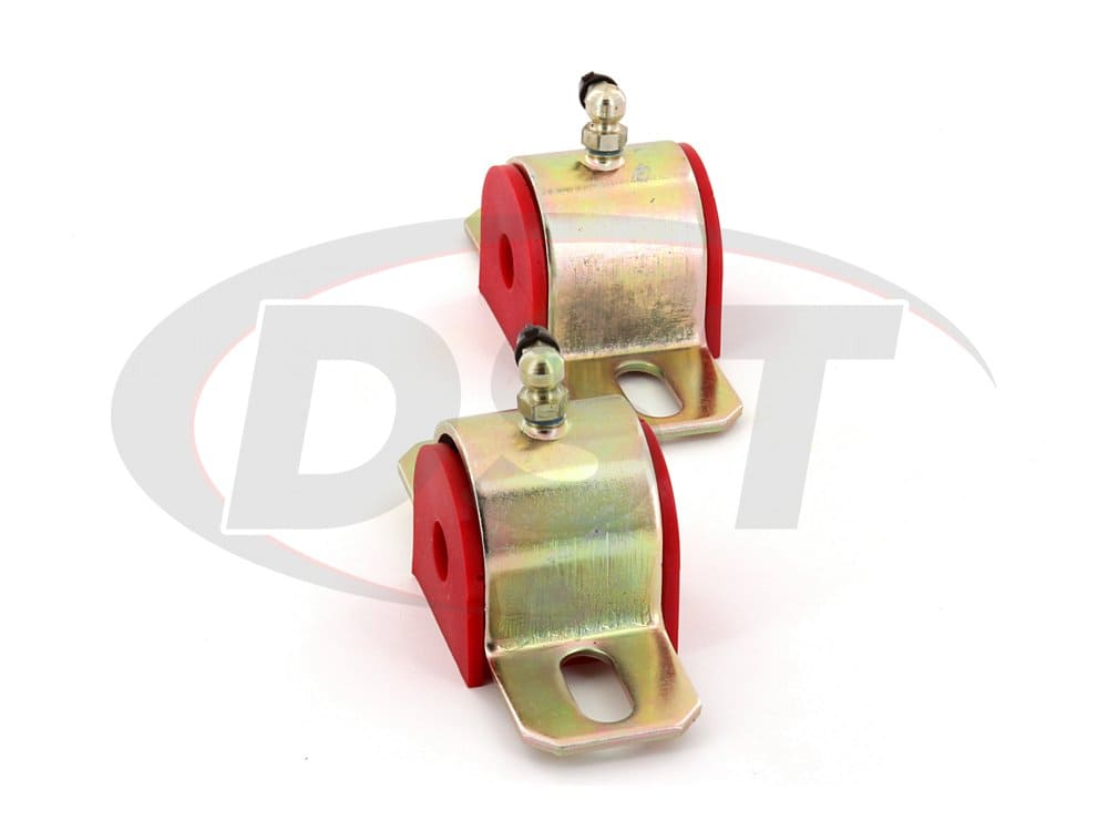 191201 Greaseable Sway Bar Bushings - Type B - 12.7mm (0.50 inch) - 90 Degree Grease Fitting