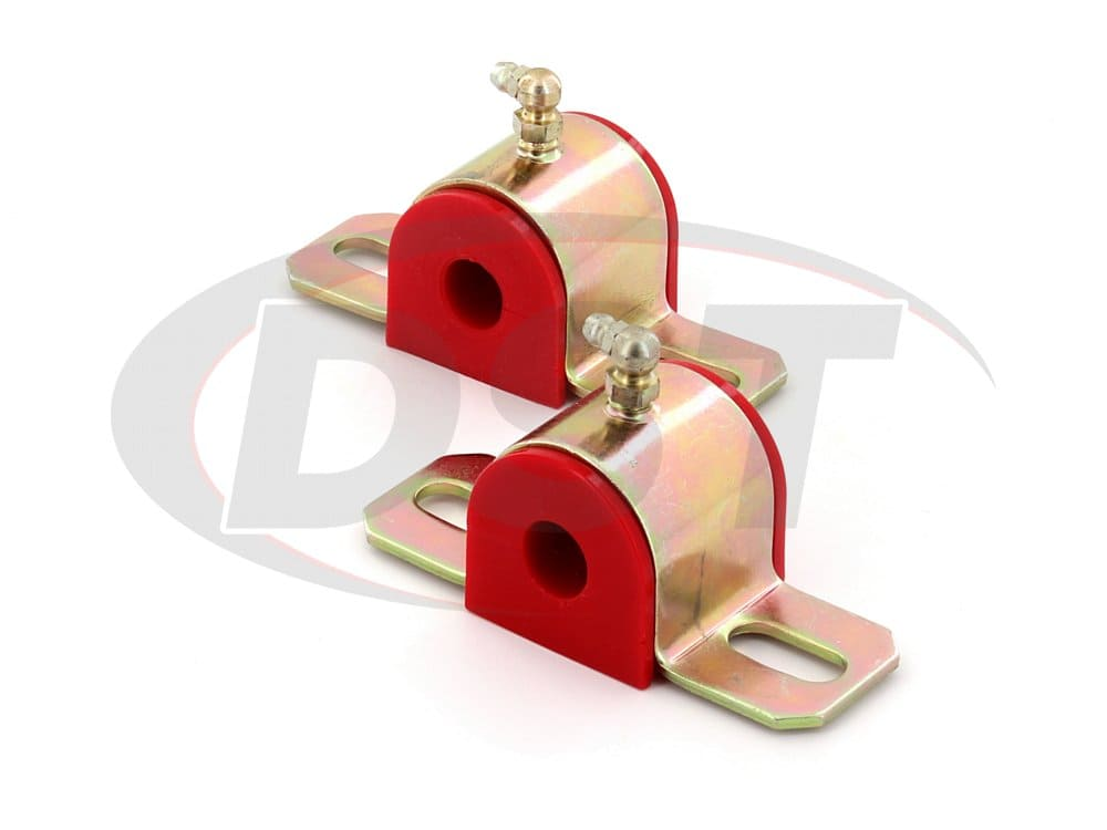 191203 Greaseable Sway Bar Bushings - Type B - 15.87mm (0.62 inch) - 90 Degree Grease Fitting