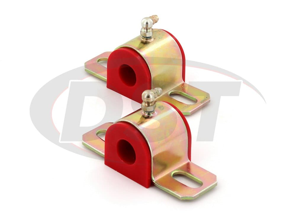 191205 Greaseable Sway Bar Bushings - Type B -19.05mm (0.75 inch) - 90 Degree Grease Fitting