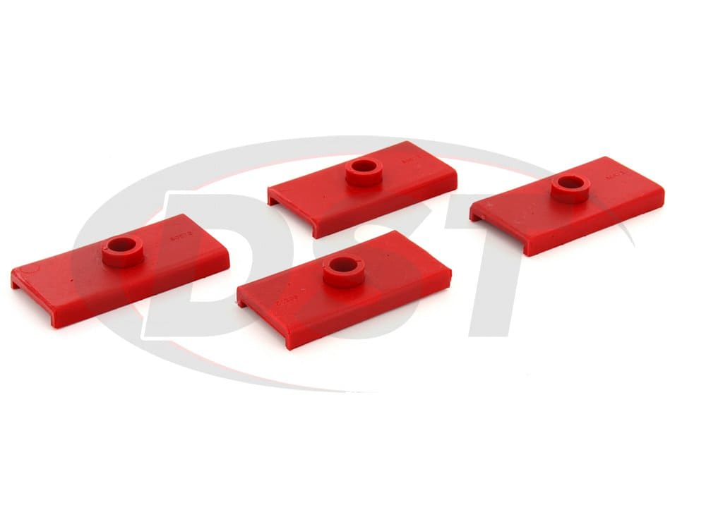 2647078 Rear Spring Pad Kit