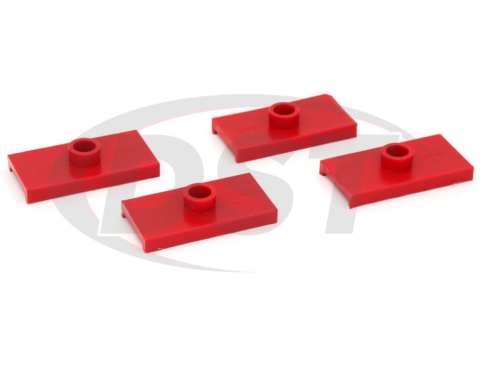 2647084 Rear Spring Pad Kit