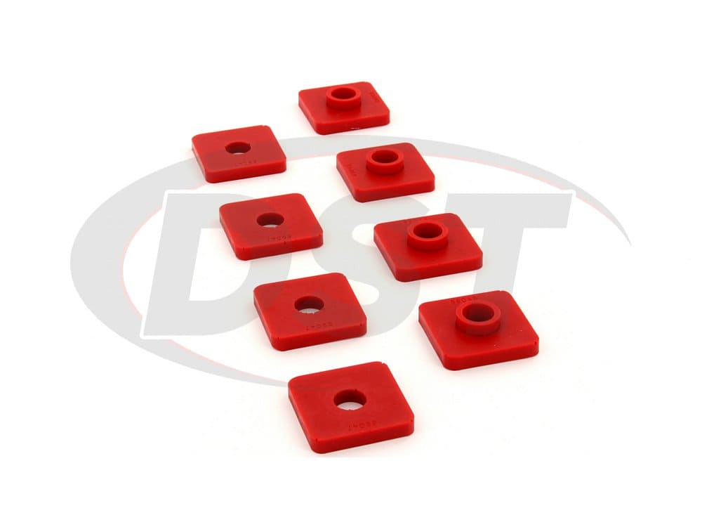 2649017 Front Cross Member Mount Bushings