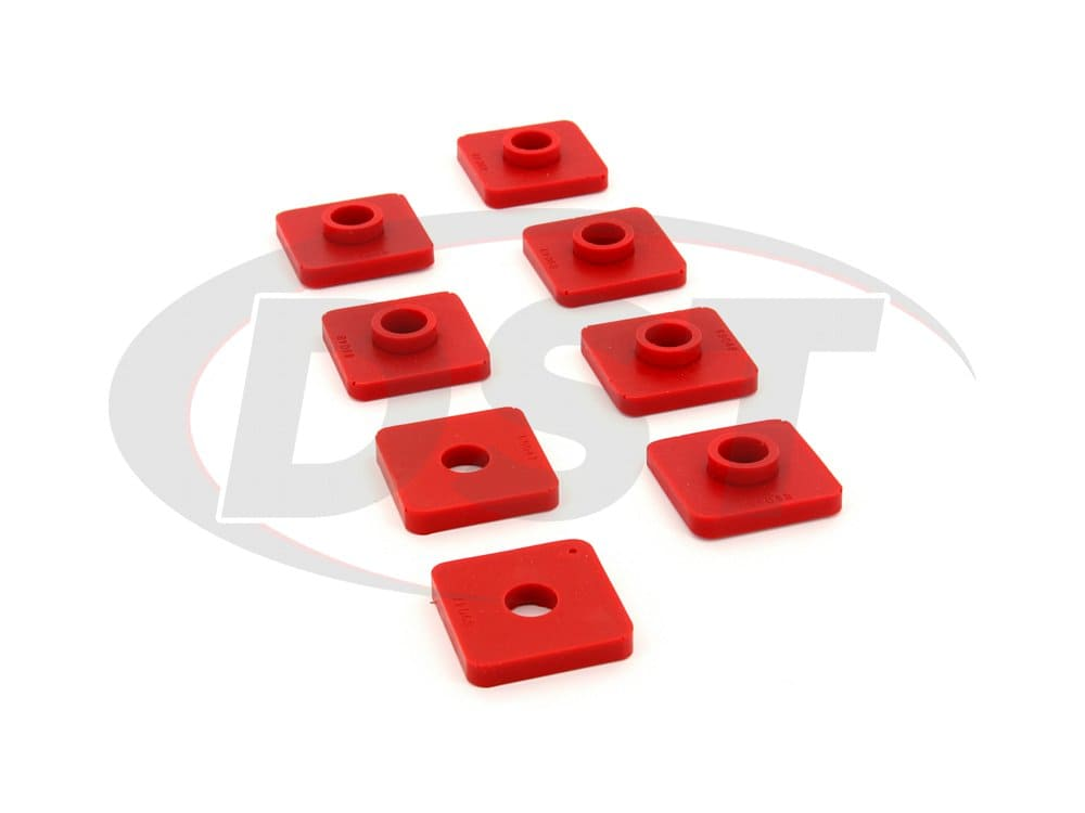 2649021 Front Cross Member Mount Bushings