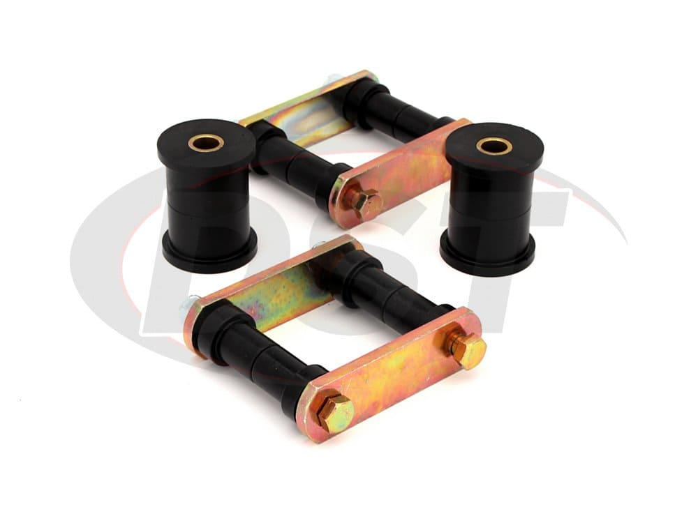 41010 Rear Leaf Spring Bushings and Shackles - 2in Main Eye