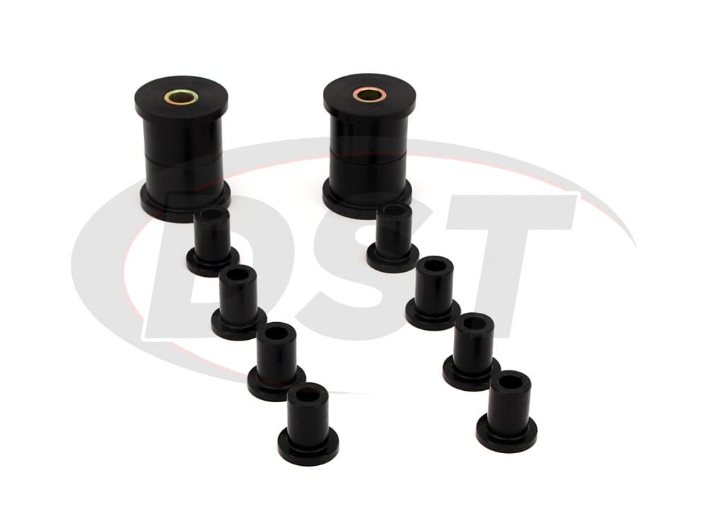 41016 Rear Leaf Spring and Shackle Bushings - 2 Inch Main Eye and 5/8 Inch Main Eye Bolt