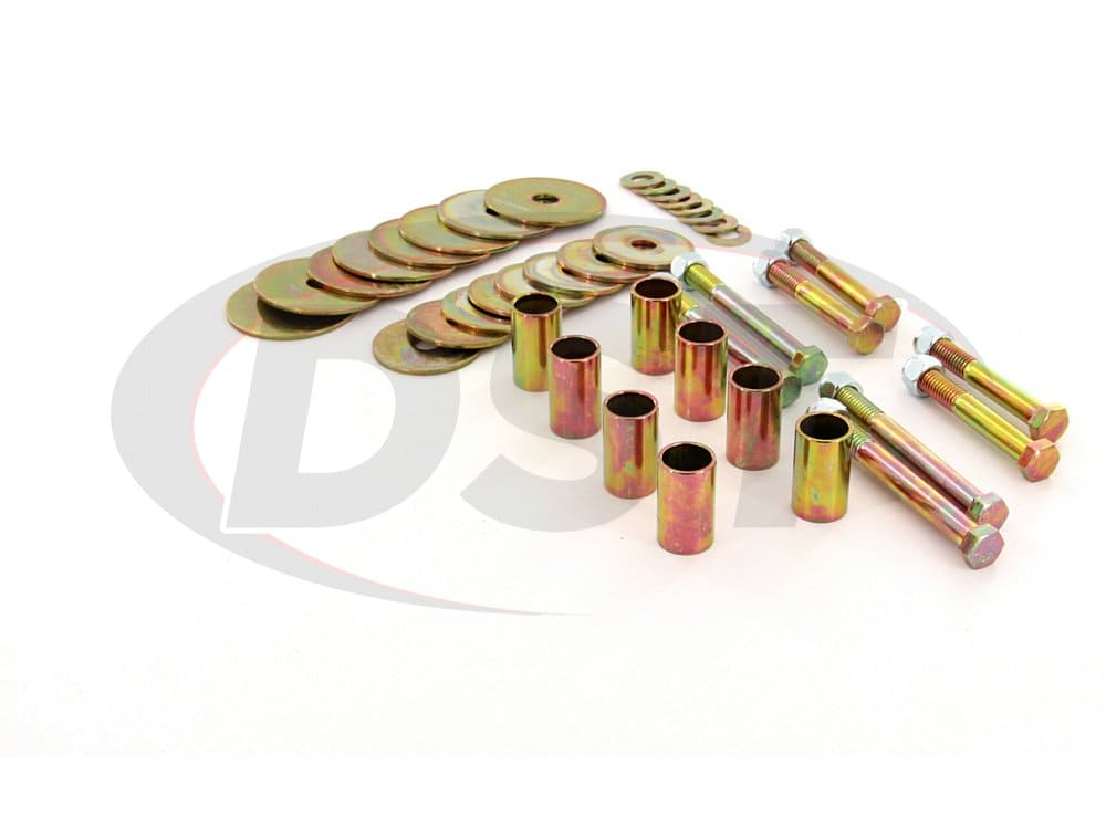 6102 Body Mount Bushings Hardware