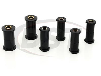 Prothane Rear Leaf Spring Bushings for Bronco, F-100, F-100 Ranger, F-150, F-250, F-350