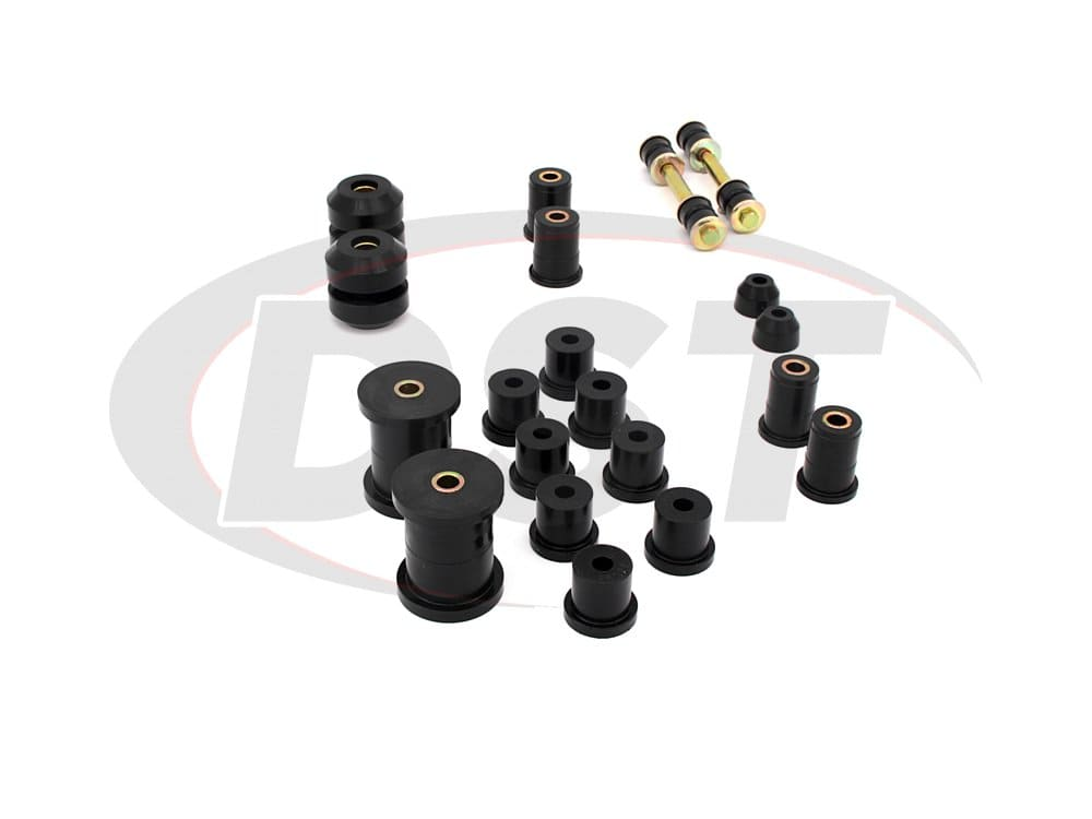 62001 Complete Suspension Bushing Kit - Ford Mustang 67-73