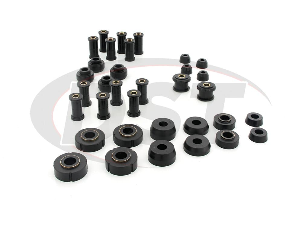 62020 Complete Suspension Bushing Kit - Ford Models - Non 3 Bushing Shackles