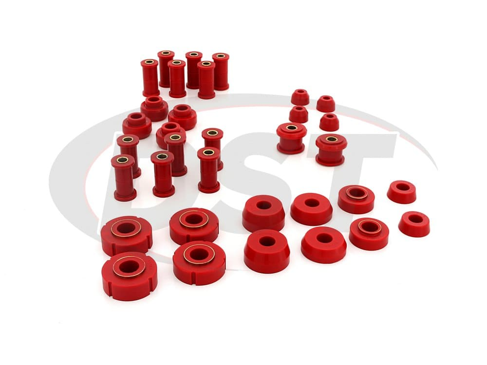 62020 Complete Suspension Bushing Kit - Ford Models - Non 3 Bushing Shackles