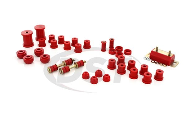 62024 Complete Suspension Bushing Kit - Mustang 65-66 - V8 Only