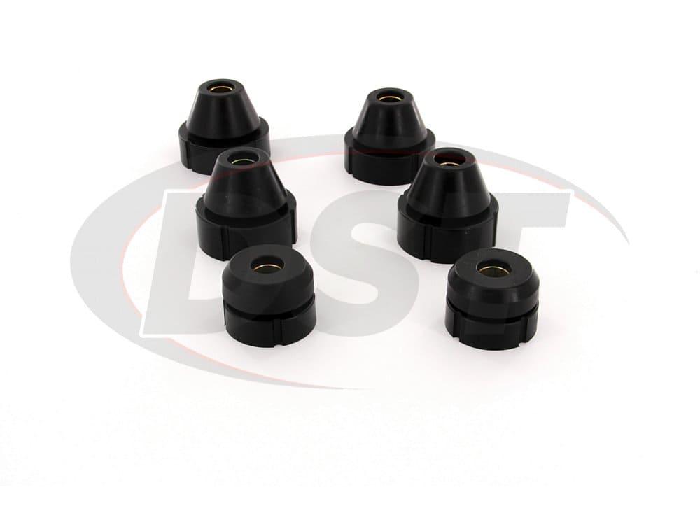 7101 Body Mount Bushings and Radiator Support Bushings - Standard Cab
