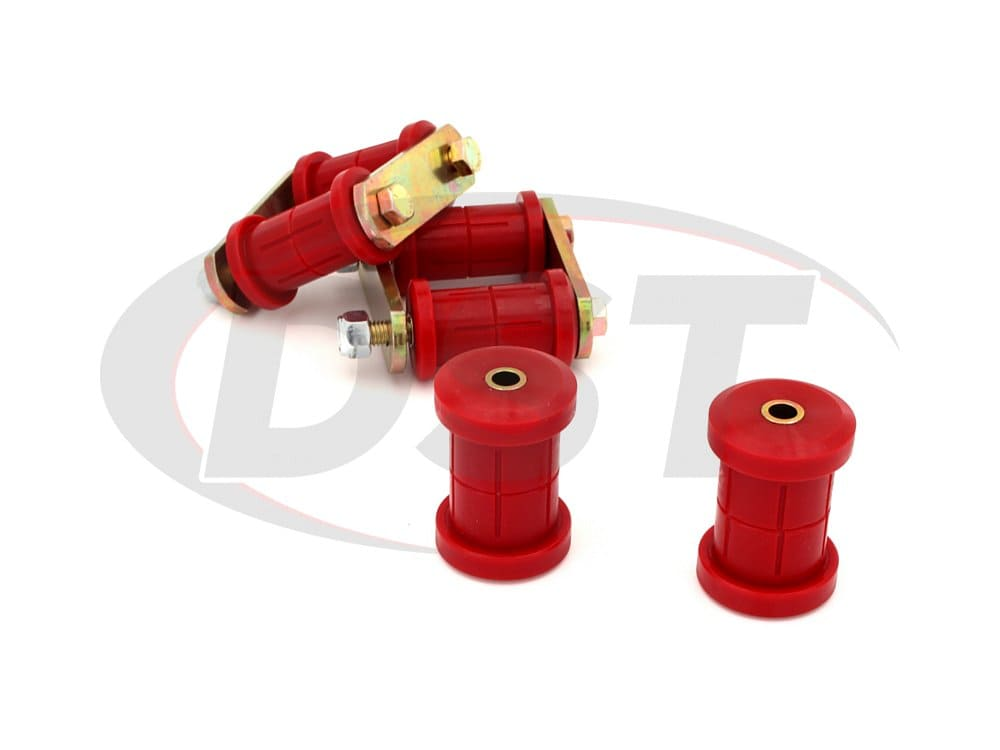 71050 Rear Spring Eye and HD Shackle Kit - Multi Leaf
