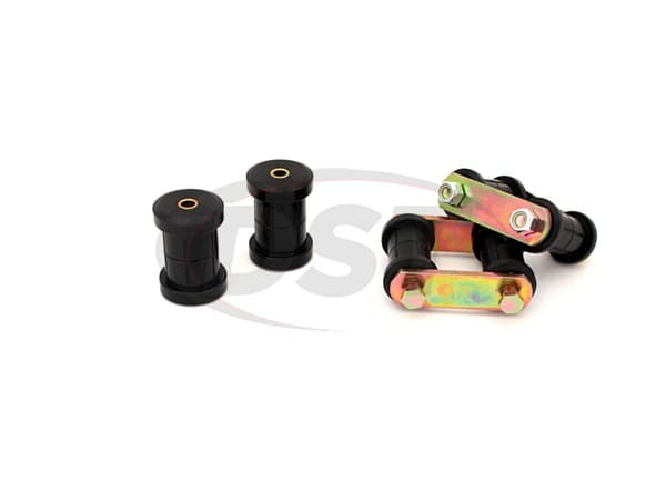 Rear Spring Eye and HD Shackle Kit - Multi Leaf
