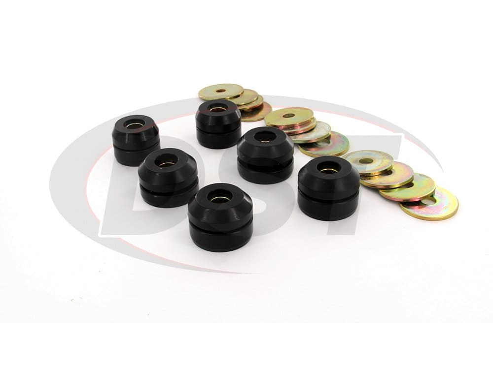 7120 Body Mount Bushings - Convertible Only