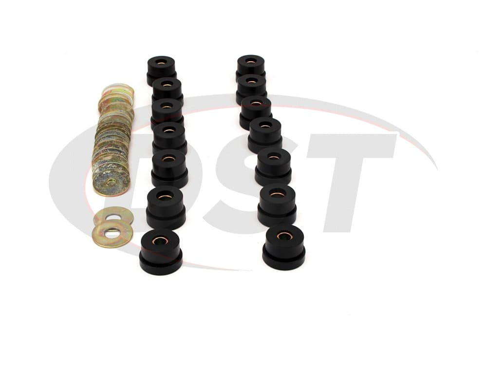 7121 Body Mount Bushings and Radiator Support Bushings