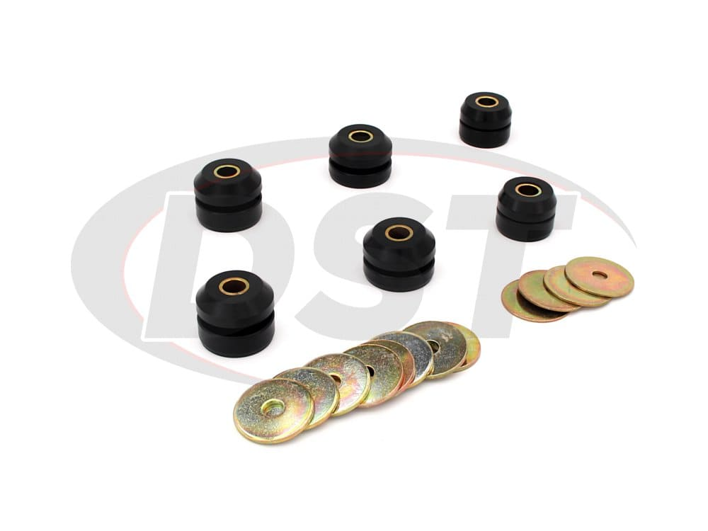 7127 Body Mount Bushings and Radiator Support Bushings