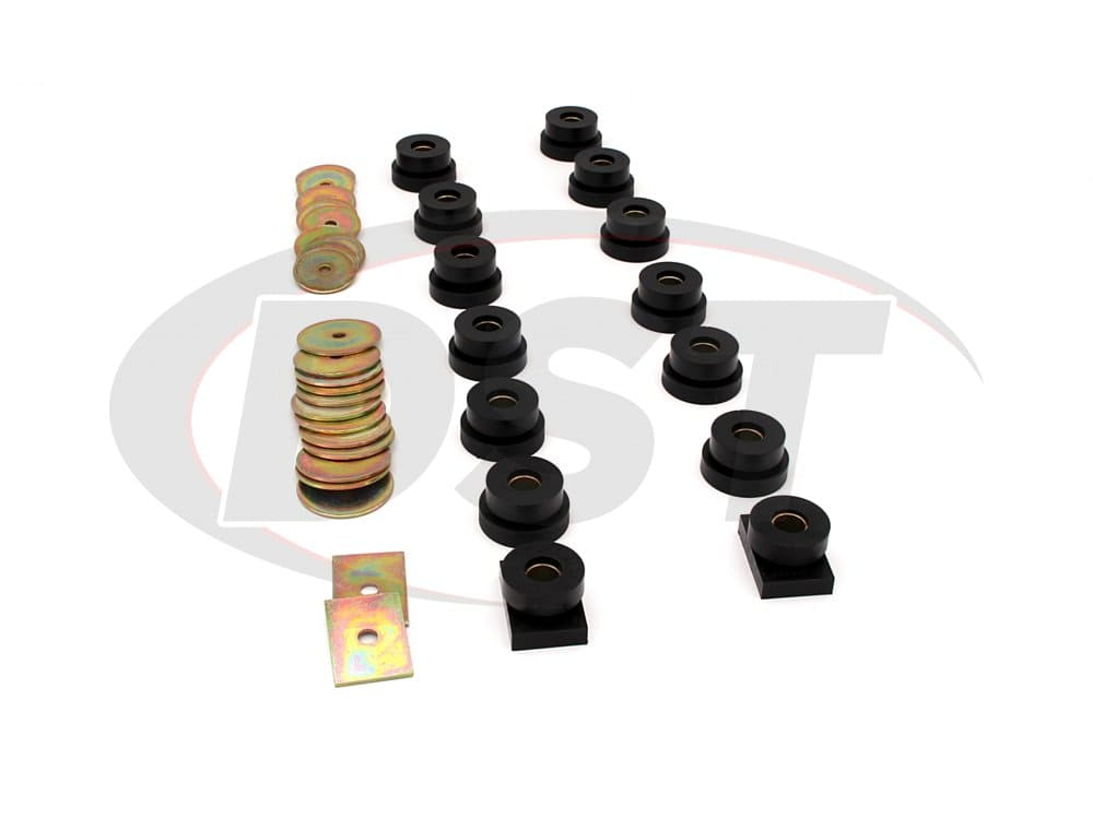 7129 Body Mount Bushings - 2 and 4 Door Sedans