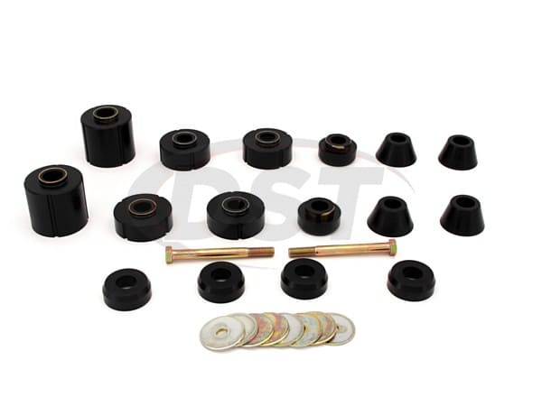 Body Mount Bushing and Radiator Support Bushings Kit - Crew Cab